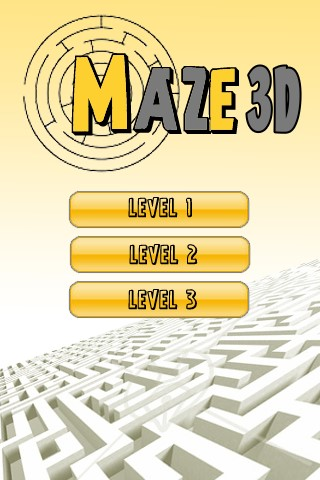 Screenshot Maze 3D – Classic Labyrinth Game