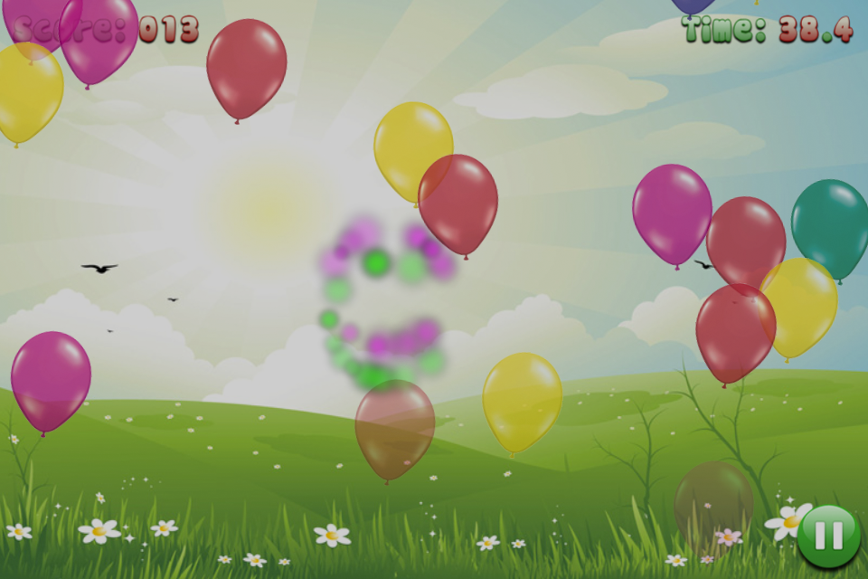 Screenshot Balloon Pop